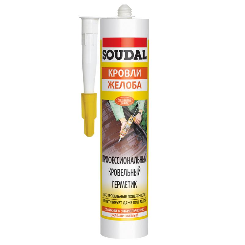 Aquafix - профессиональный герметик для кровельных работ бесцветный (280 мл)