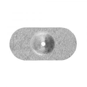 Шайба POW-07 алюцинк овальная