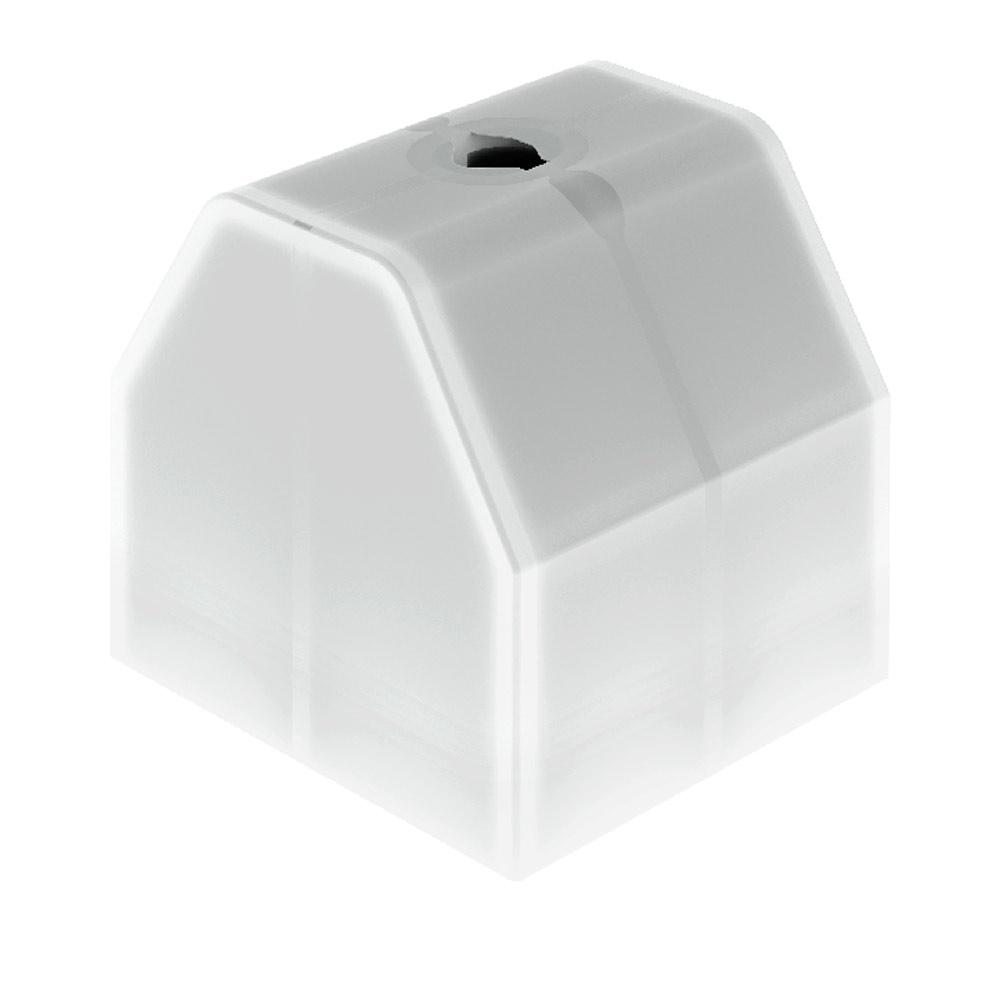 Белая пластиковая подставка