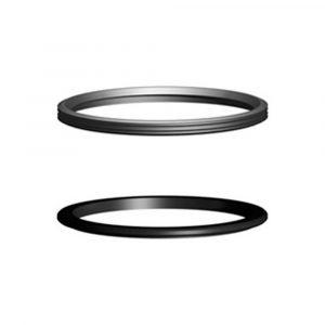 Прижимное и уплотнительное кольца М