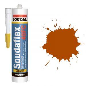 ПУ Герметик быстрого отвердения Soudaflex 40 FS коричневый (310 мл)
