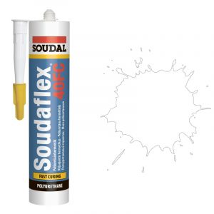 ПУ Герметик быстрого отвердения Soudaflex 40 FS белый (600 мл)