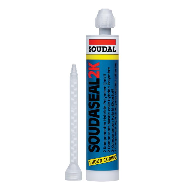 Двухкомпонентный эластичный клей-герметик Soudaseal 2k (2x250 мл)