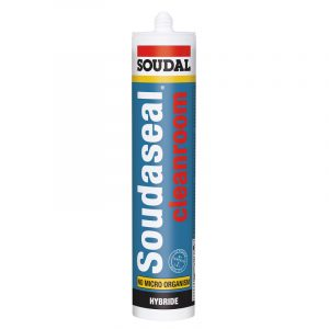 "Клей-герметик для ""чистых комнат"" Soudaseal Cleanroom белый (290 мл)"