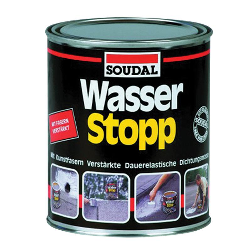 Васер Стоп - эластичное водостойкое покрытие (Мастика, 750 гр)
