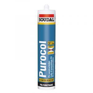 Конструкционный клей Purocol бесцветный (310 мл)