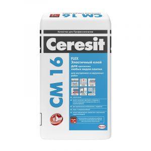 Клей для плитки Ceresit CM 16 (плитка) 25 кг