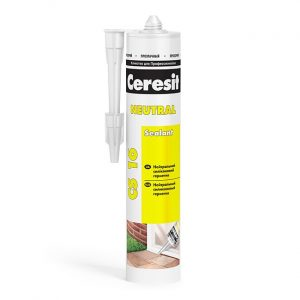 Герметик нейтральный прозрачный Ceresit CS 16 280 мл