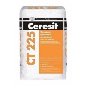 Шпаклевка фасадная финишная серая Ceresit CT 225 25 кг