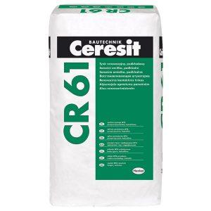 Гидрофильная санирующая штукатурка Ceresit CR 61 25 кг