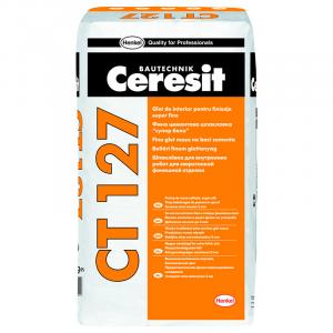 Шпаклевка полимерная гидроизоляционная для внутренних работ Ceresit CT 127 25 кг