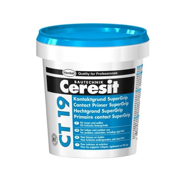 Грунтовка бетонконтакт морозостойкая Ceresit CT 19 3 кг