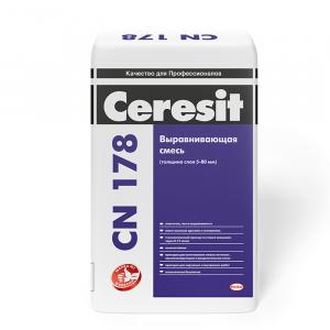 Легковыравнивающая смесь Ceresit CN 178 25 кг