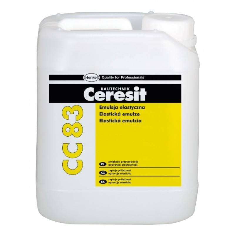 Эластификатор для цементных растворов Ceresit CC 83 5 л
