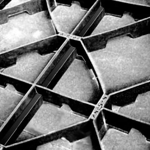 Георастер (Geosaster Zinco) - 540 *540 мм (2,56 шт. = 1 кв.м)