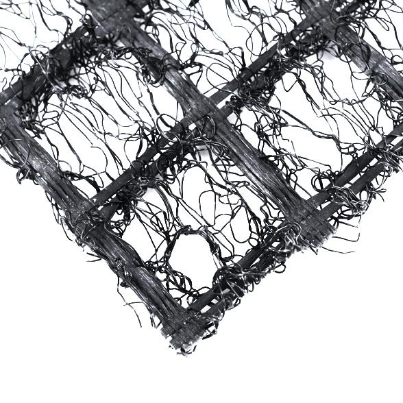 Геомат полипропиленовый противоэрозионный армированный полиэфирной геосеткой