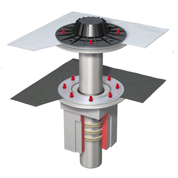 Воронка в комплекте S-Gully-Set PVC vert. DN100