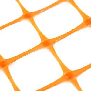 Георешетка полипропиленовая двуосная СД оранжевая