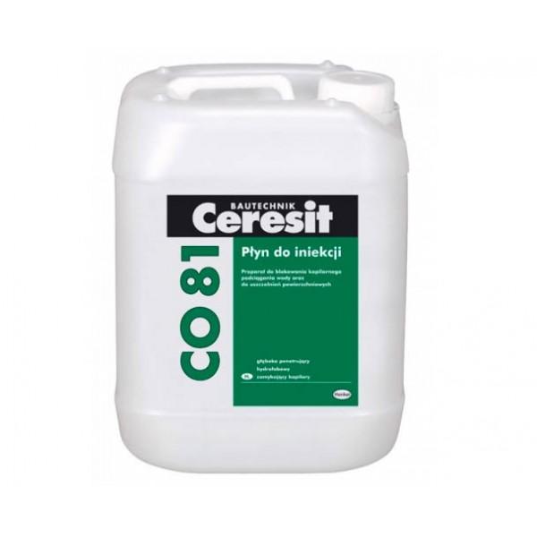 Средство для защиты от каппилярной влаги Ceresit CO 81 30 кг