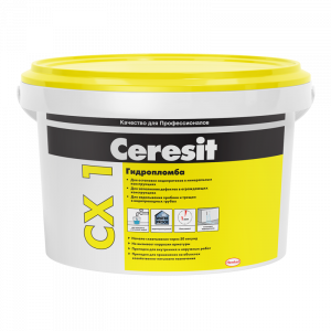 Гидропломба блиццемент Ceresit CX 1 2 кг