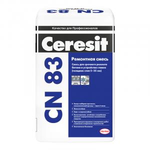 Раствор ремонтный для полов Ceresit CN 83 25 кг