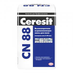 Высокопрочная стяжка пола Ceresit CN 88 25 кг