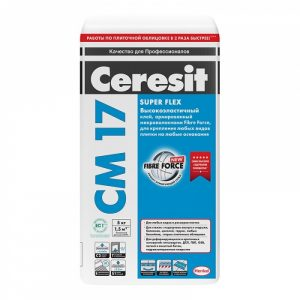 Клей для плитки Ceresit CM 17 (плитка) 5 кг