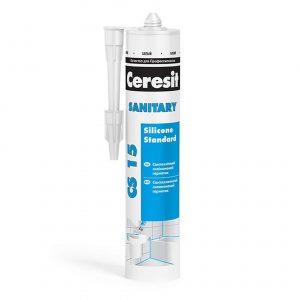 Санитарный герметик белый Ceresit CS 15 280 мл