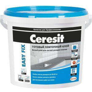 Клей для плитки Ceresit Easy Fix (плитка) 3,5 кг