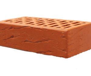 Кирпич облицовочный абрикосовый (руст) М-150, 250x120x65 мм