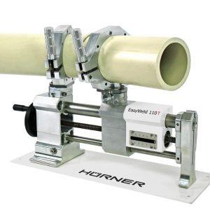 EasyWeld 110 (с горизонтальной регулировкой зажимов и с ручным торцевателем).