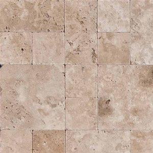 Мраморная мозайка Étage travertin 500 x 500 x 10
