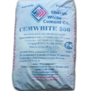 Белый портландцемент CEM I 52, 5 N Иран