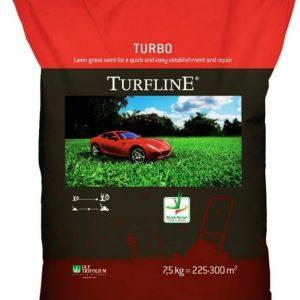 Газонная травосмесь Торфлайн Турбо 7.5 кг