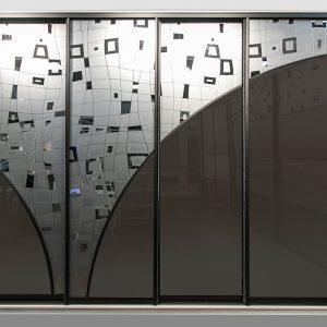 Зеркало травленное SMC-042 б/ 2550x1650x4 мм