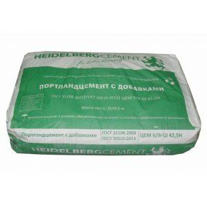 Цемент Нeidelbergcement В-Ш 42,5Н тара 25 кг