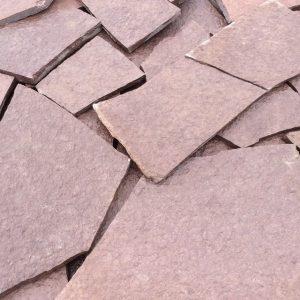 Камень облицовочный натуральный Доломит бордо (вишня)