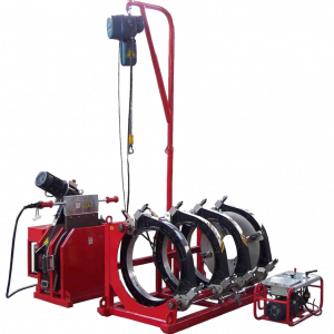 Сварочная машина с гидравлическим приводом для сварки пластиковых труб SHENGDA SHD800