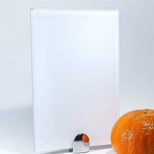 Стекло окрашенное Ультра белое 2550x1830x5 мм