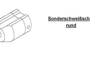 Насадка для экструдера DOHLE EXON 1-1A для внутреннего углового шва