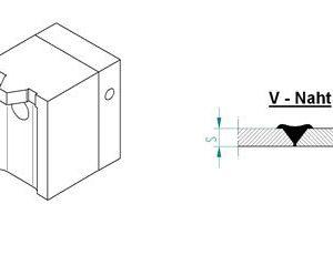 Насадка для экструдера DOHLE EXON 2-8 (1507-6007) для стыкового шва