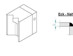 Насадка для экструдера DOHLE EXON 2-8 (1507-6007) для внешнего угла