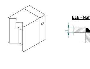 Насадка для экструдера DOHLE EXON 2-8 (1507-6007) для внутреннего углового шва