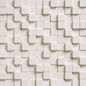 Мраморная мозайка Cubic Blanc 300 x 300 x 15-25
