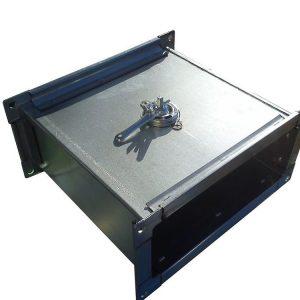 Дроссель-клапан прямоугольного сечения 1000 х 500 мм