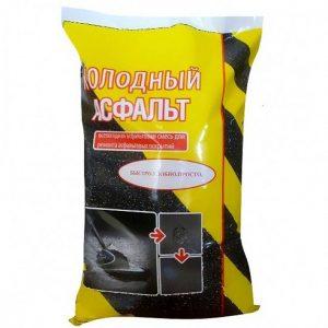 Холодный асфальт NovTecAs 30 кг крупная фракция