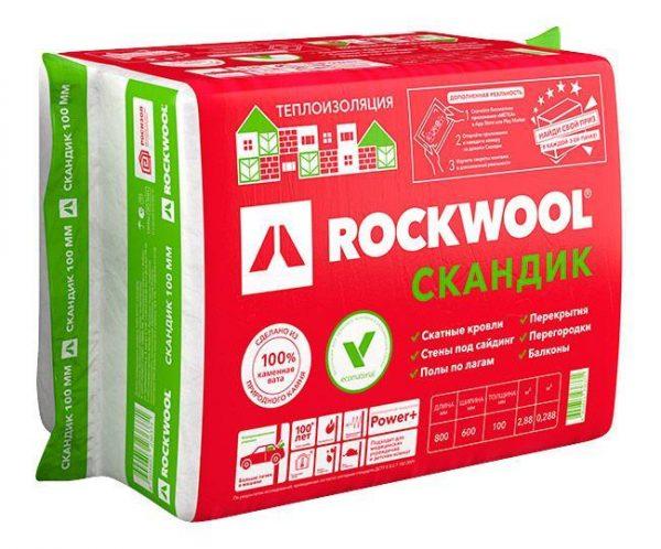 Роквул Лайт Баттс скандик (Классическая упаковка) 1200x610x200 мм