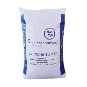 Белый портландцемент CEM I 52, 5 N AALBORG PORTLAND