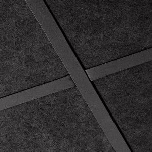 Панель окрашенная черная Sombra A/gamma 1200х600 20