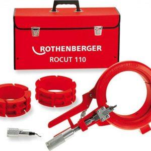 Инструмент для резки и снятия фаски Рокат 110 Set на 110 мм (с вкладышами на 50мм и 75мм)